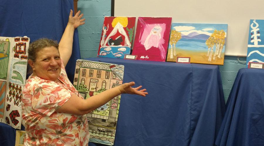 our facility art show